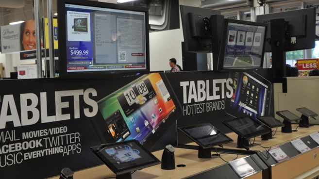 tablets retail