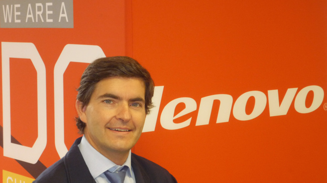 Juan Chinchilla, director general de Lenovo Iberia y director de canal