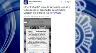Virus Policia movil