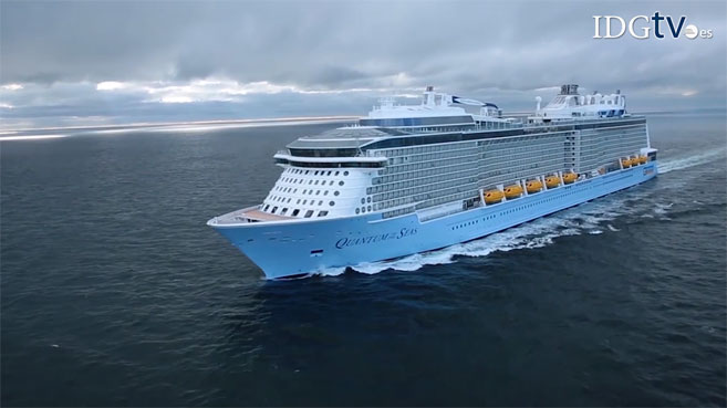Quantum of the Seas, el barco tecnol�gico