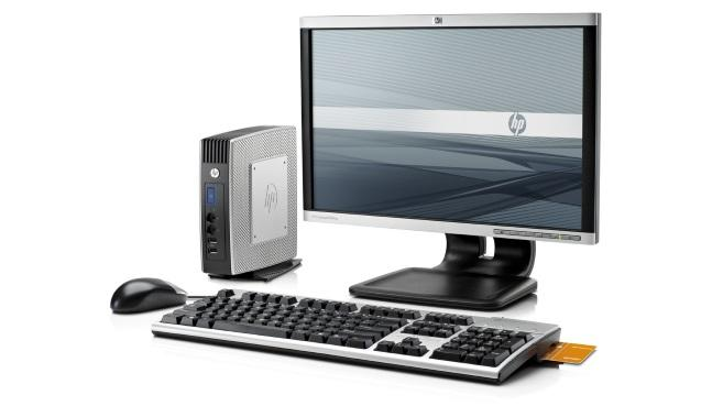 HP Thin Client soluci�n completa