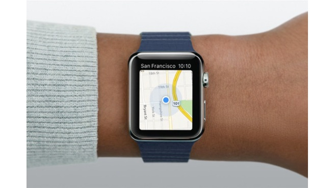 Apple Watch Mapas
