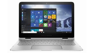 Portátil HP con Windows 10.