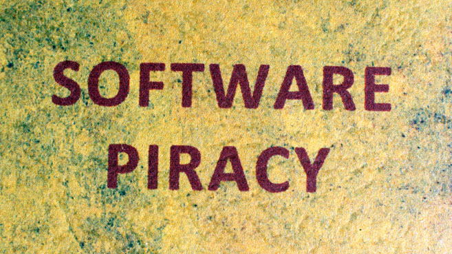 piratería de software