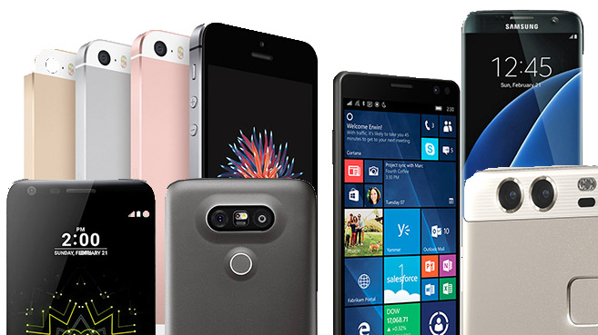 El mercado mundial de 'smartphones' crece un 4,3% en el primer trimestre