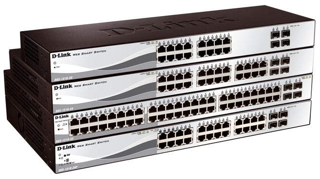 D-Link tercera generación switches
