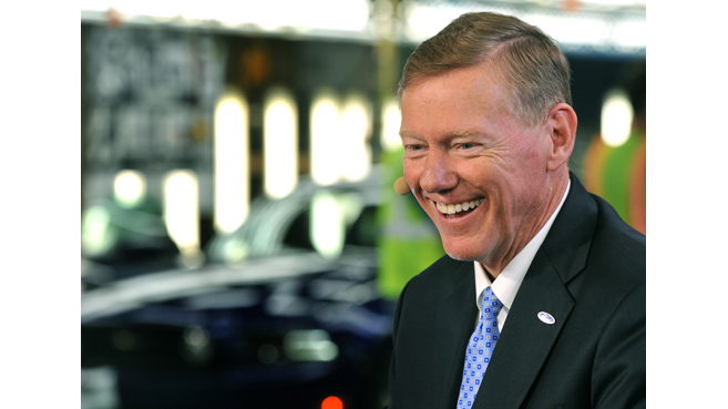 Alan Mulally, CEO de Ford