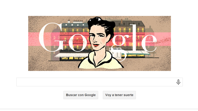 Simone de Beauvoir Google