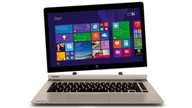 Toshiba Satellite desmontable