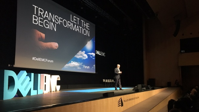 Dell EMC Forum Barcelona Adrian McDonald