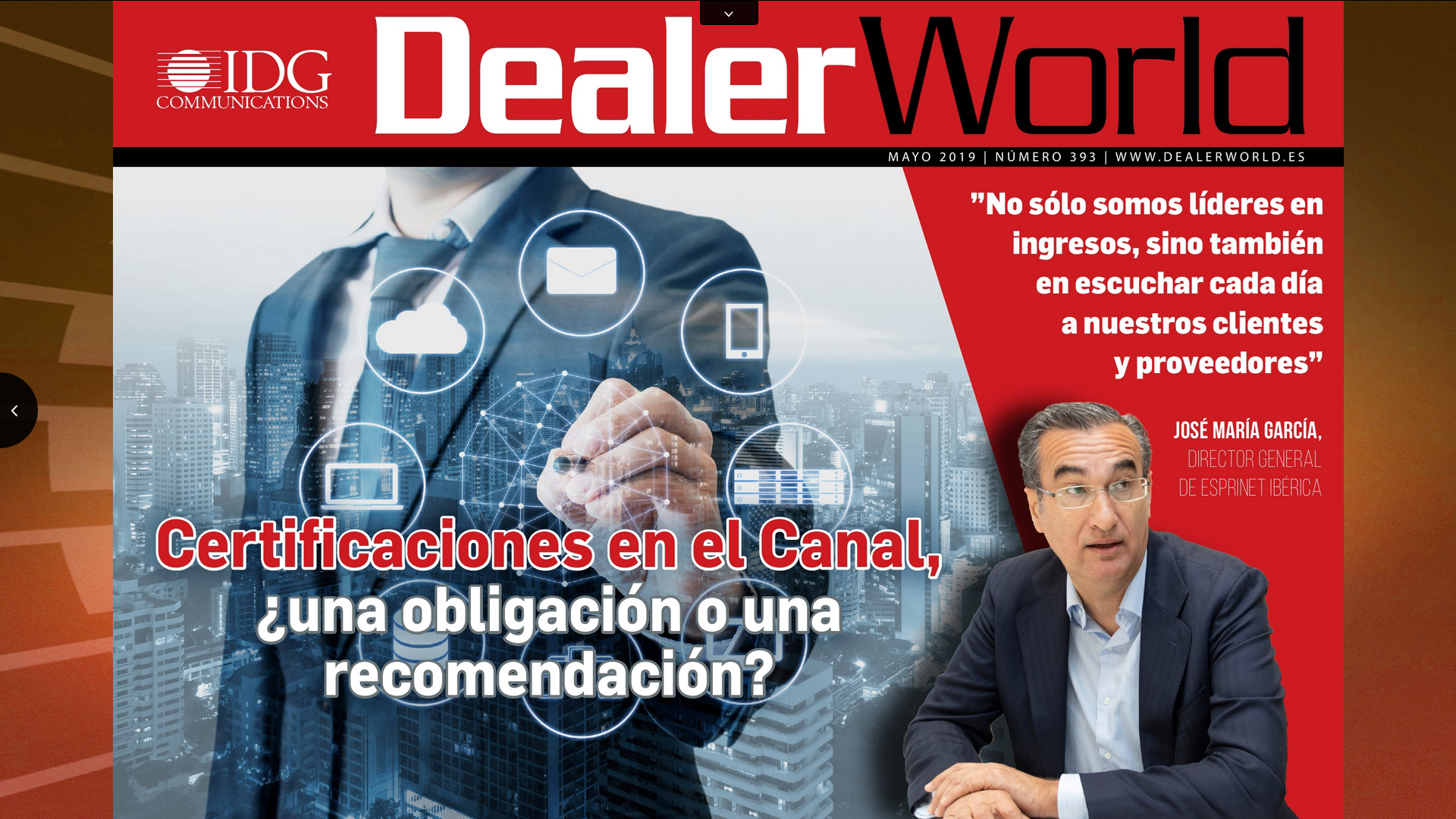 DealerWorld portada mayo 2019